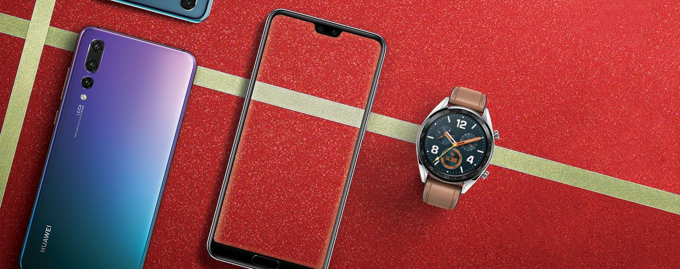 Суперцены на камерофоны со смарт-часами Huawei: эмоциональный подарок по крутой стоимости
