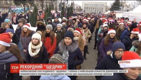 В прифронтовом Покровске установили сразу два праздничных рекорда