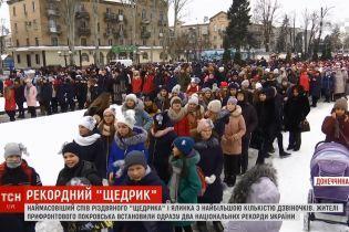 """""""Щедрик"""" и елка: прифронтовой Покровск установил сразу два рекорда Украины"""