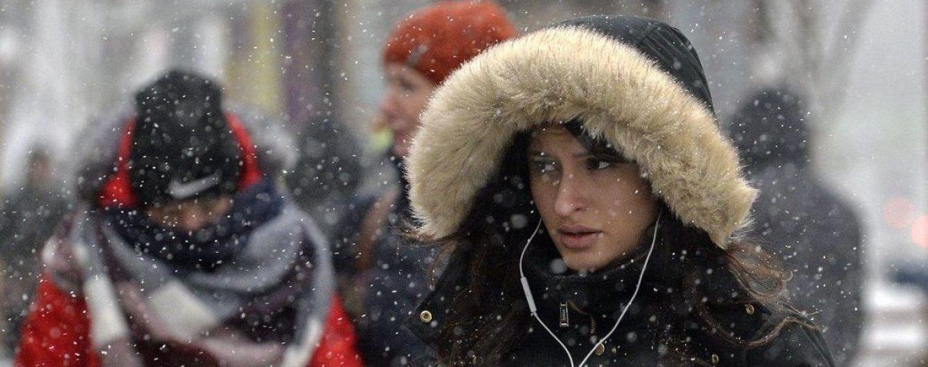 Погода на 1 января: в Украине будет дождь с мокрым снегом