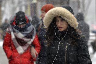 Погода на 1 січня: в Україні буде дощ з мокрим снігом