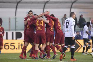 """""""Рома"""" та """"Інтер"""" здобули синхронні виїзні перемоги в Серії А"""