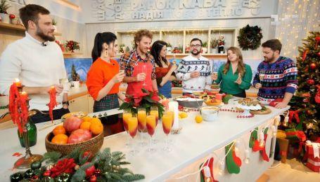 Ведущие Сніданку з 1+1 поздравляют зрителей с наступающим Новым годом