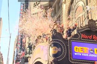 У Нью-Йорку влаштували видовищну репетицію Нового року