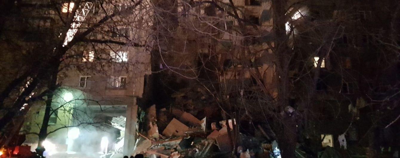 В Магнитогорске возле дома, где произошел обвал, взорвалась маршрутка