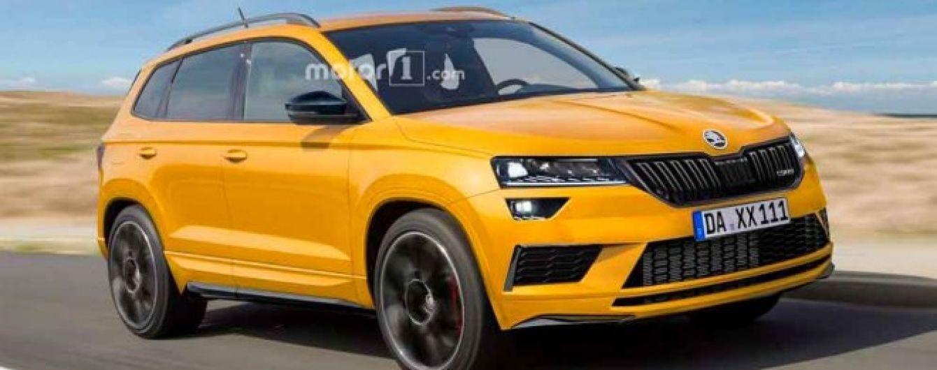 У Skoda випустять заряджений Karoq RS за 40 тисяч євро