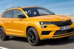В Skoda выпустят заряженный Karoq RS за 40 тысяч евро
