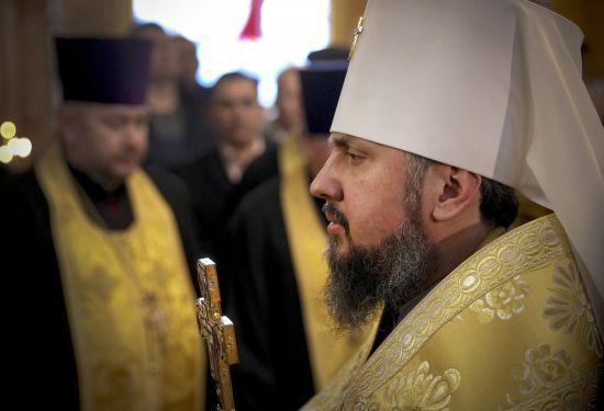 На Священному синоді обговорять конфлікт у церкві - Епіфаній