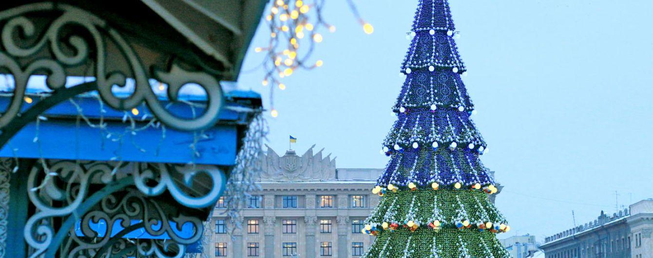 Под самой высокой елкой страны не протолкнуться: Харьков встречает Новый год шашлыком и медовухой