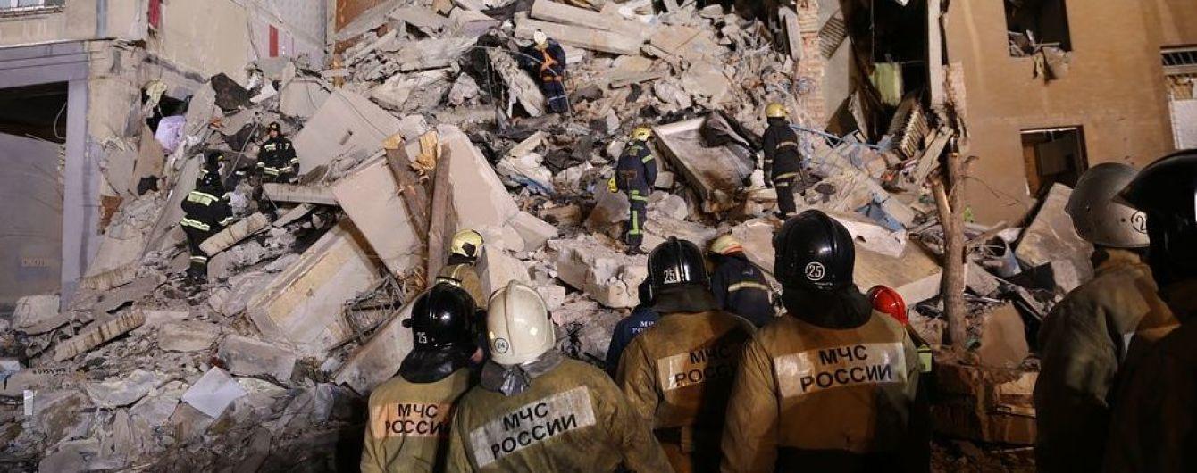 Под завалами дома в Магнитогорске нашли пять жертв