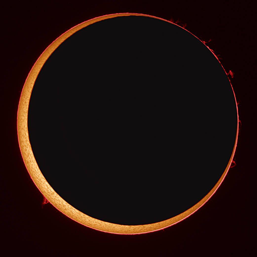 кільцеподібне сонячне затемнення