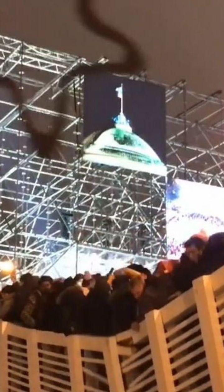 В Москве под гимн России обрушился мост с людьми