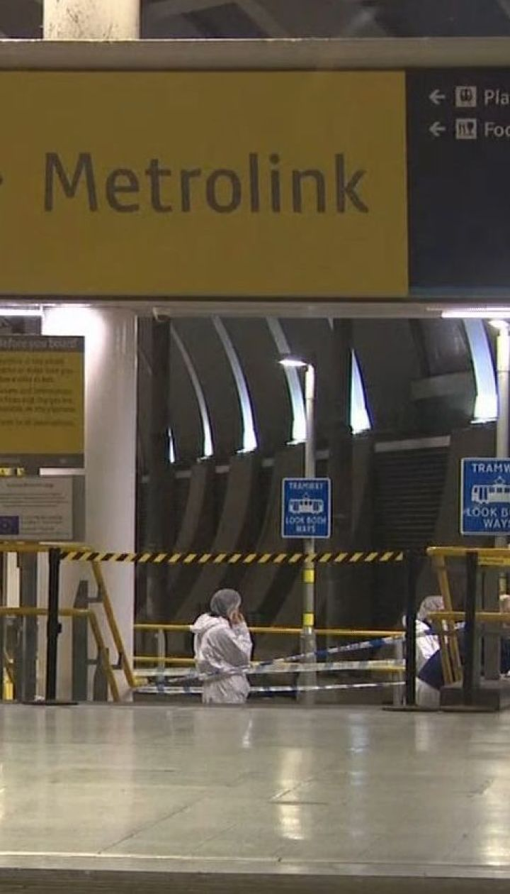 В метро Манчестера мужчина с ножом напал на пассажиров