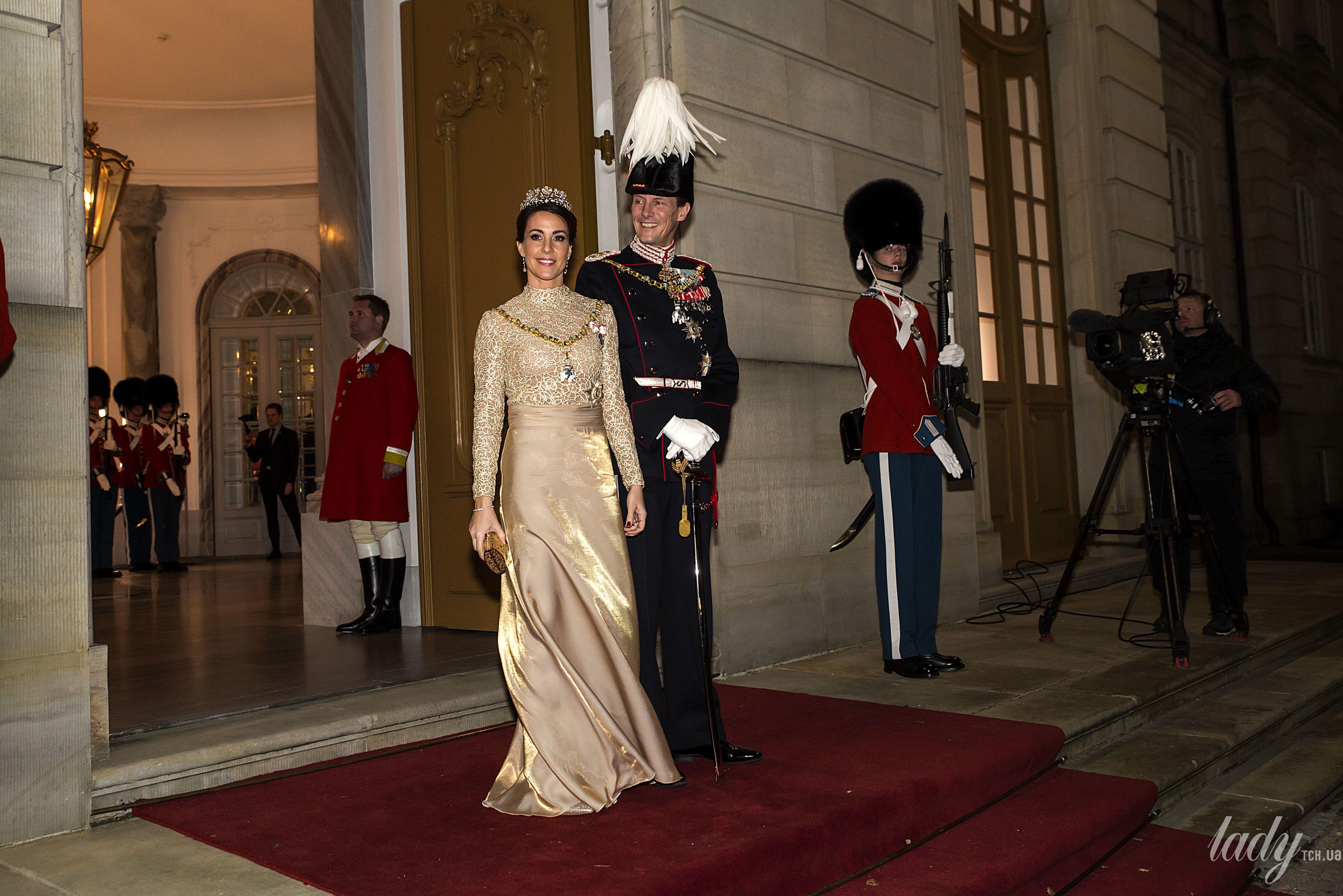 Принцесса Мари и принц Йоаким