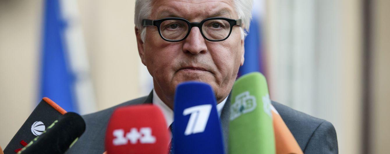 Штайнмаєр летить у Москву говорити про Савченко