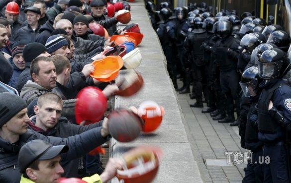 протести шахтарів у Києві_4