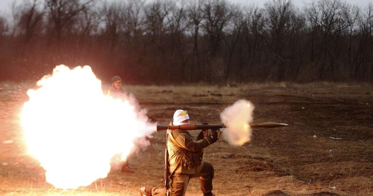 Четверо раненых военных и провокационный огонь под Мариуполем. Карта АТО