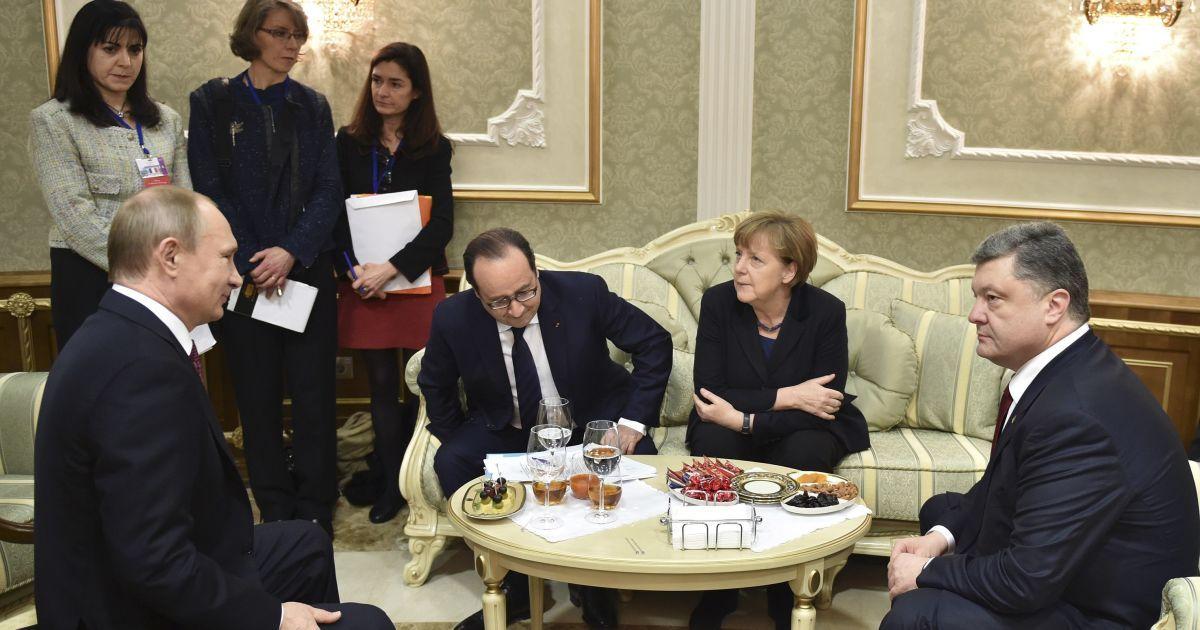 """Олланд рассказал, когда может состояться встреча """"нормандской четверки"""""""