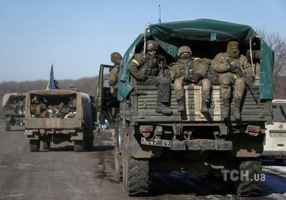 Відхід військових від Дебальцевого _2