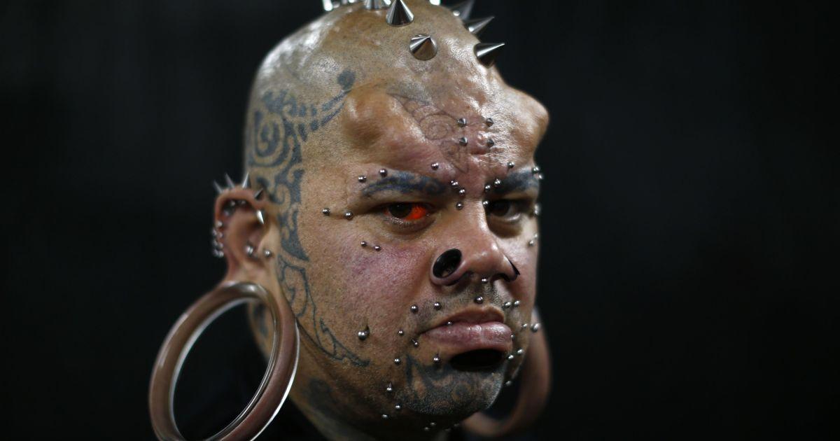 На фестиваль приехали известные тату-фрики и мастера со всего мира @ Reuters