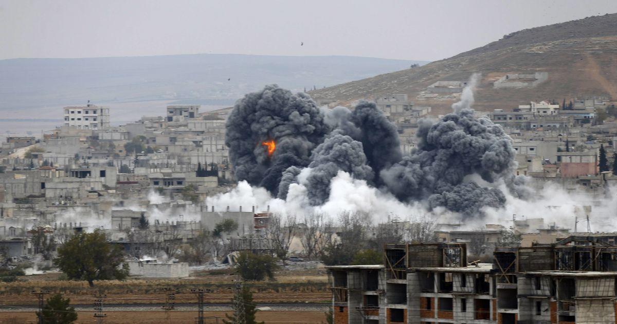 Удары авиации РФ по городам Сирии. Инфографика