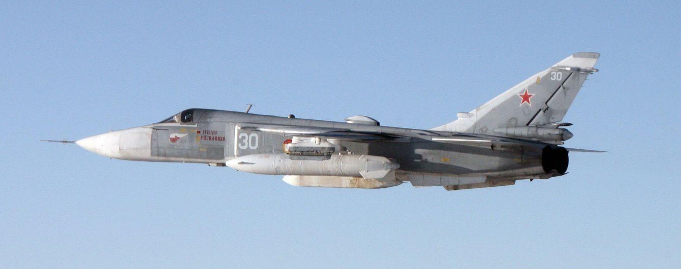В России перевернулся новейший бомбардировщик Су-34