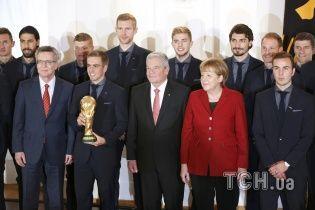 Гравців збірної Німеччини нагородили найвищою спортивною нагородою країни за ЧС-2014