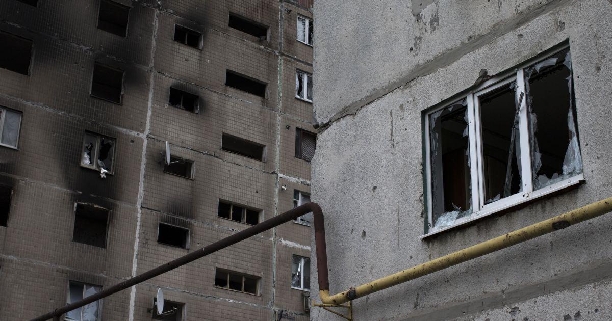 Ясиноватая пострадала во время обстрелов @ Reuters