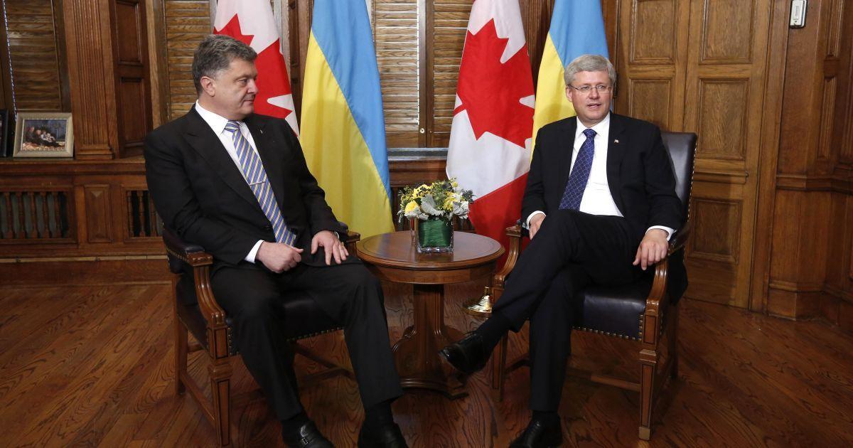 У Порошенко был насыщенный рабочий визит в Канаду @ Reuters