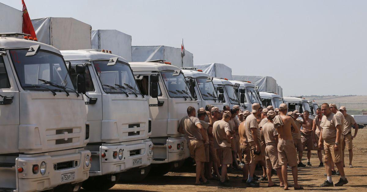 """Военные в аналогичной форме возили боевикам """"гумконвои"""" в 2014 году @ Reuters"""