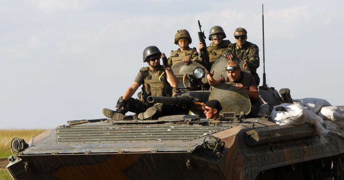 На Луганщине военные завершили подготовку к отводу вооружения и ждут приказа
