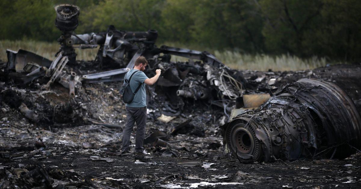 """Следствие выявило предполагаемые части """"Бука"""" на месте крушения Boeing 777"""
