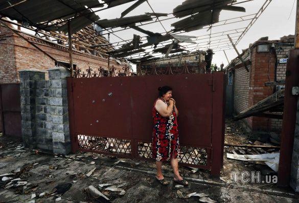 У Слов'янську зруйновані будинки місцевих мешканців_3