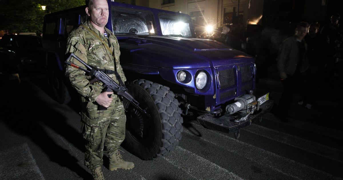 """Главарь сепаратистов назвал подарок """"помощью россиянам от россиян"""" @ Reuters"""