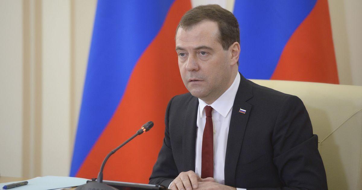 Медведєв заговорив про скасування російського ембарго на продукти з Європи