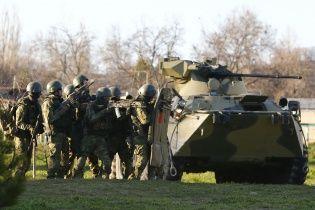 Росія вихваляється захопленням всіх військових підрозділів в Криму та роззброєнням солдатів