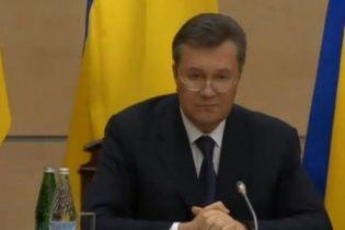 Янукович розповів, коли повернеться в Україну