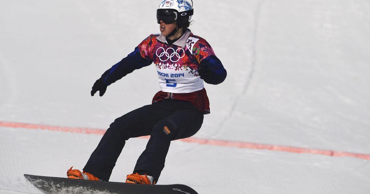 Чеська сноубордистка Єва Самкова виграла сноуборд-крос @ Reuters