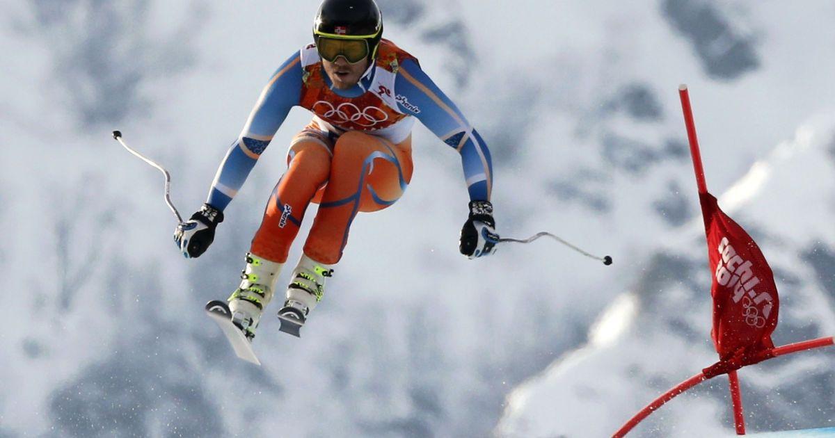 Олімпійський чемпіон у супергіганті норвежець К'єтіль Янсруд @ Reuters