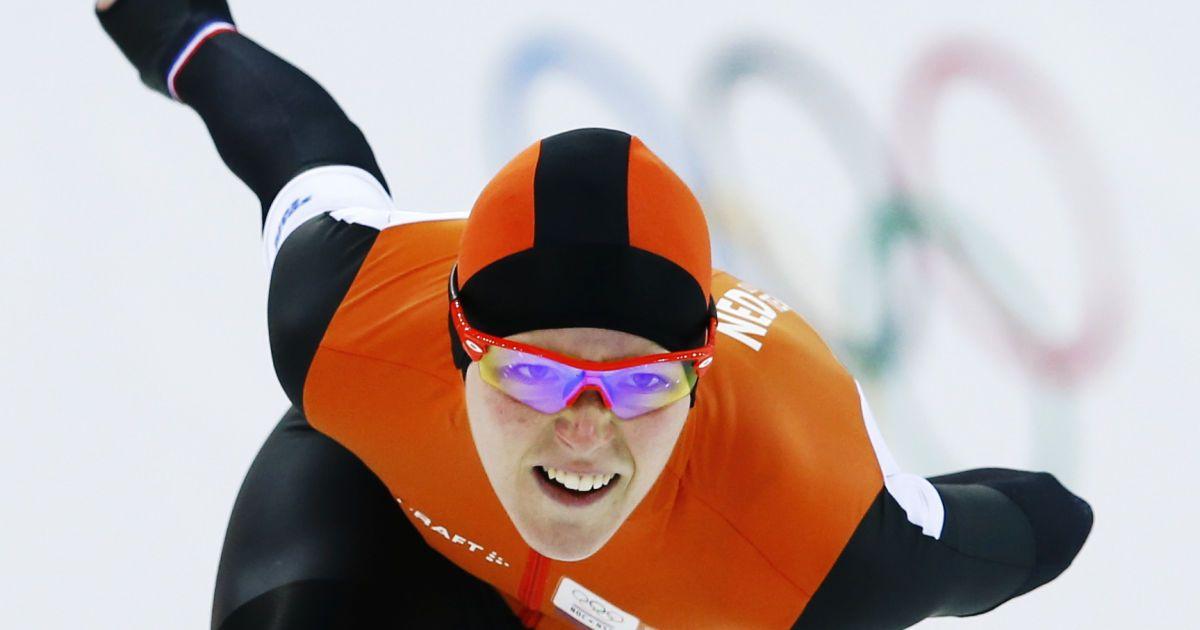 """Нідерландська ковзанярка Йорін Тер Морс виграла золото з """"олімпійським"""" рекордом @ Reuters"""