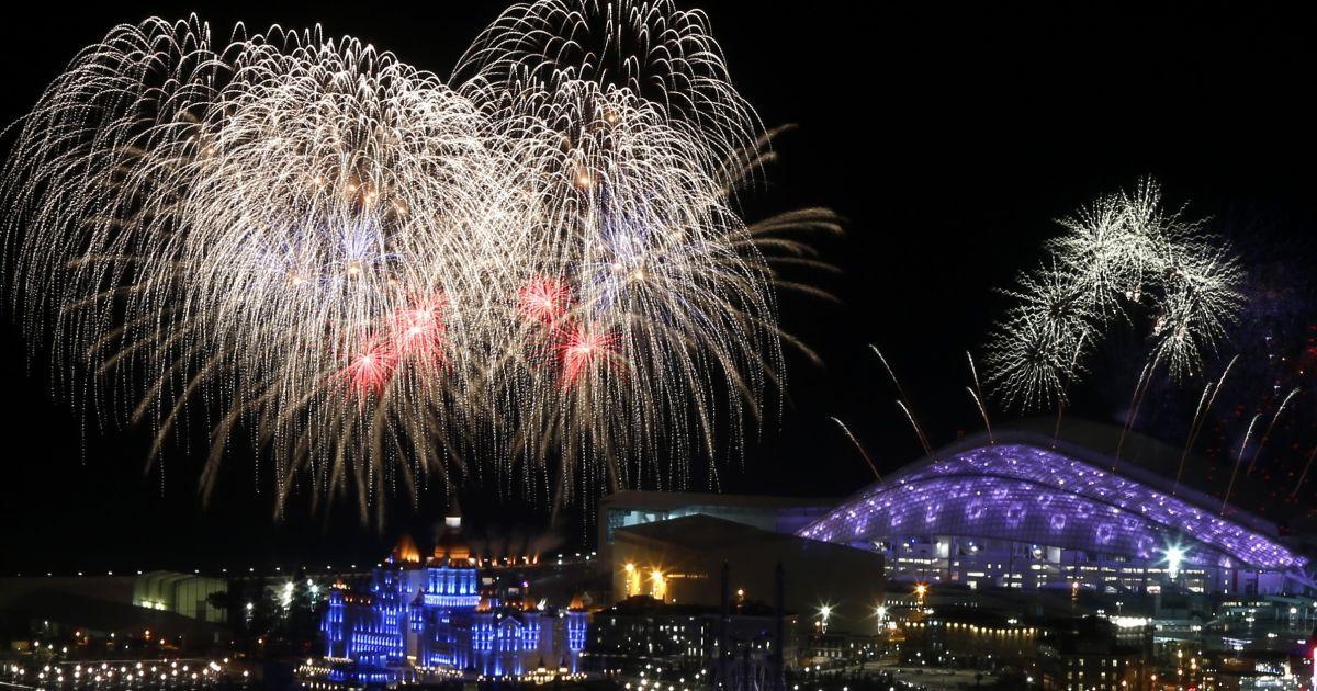 В Сочи стартовала церемония открытия Олимпийских игр. @ Reuters