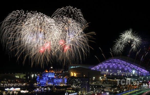 Репетиція церемонії відкриття Олімпіади в Сочі салют_5