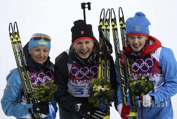 Віта Семеренко взяла бронзу в Сочі