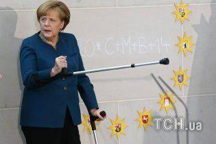 Меркель согласилась на новые санкции против России