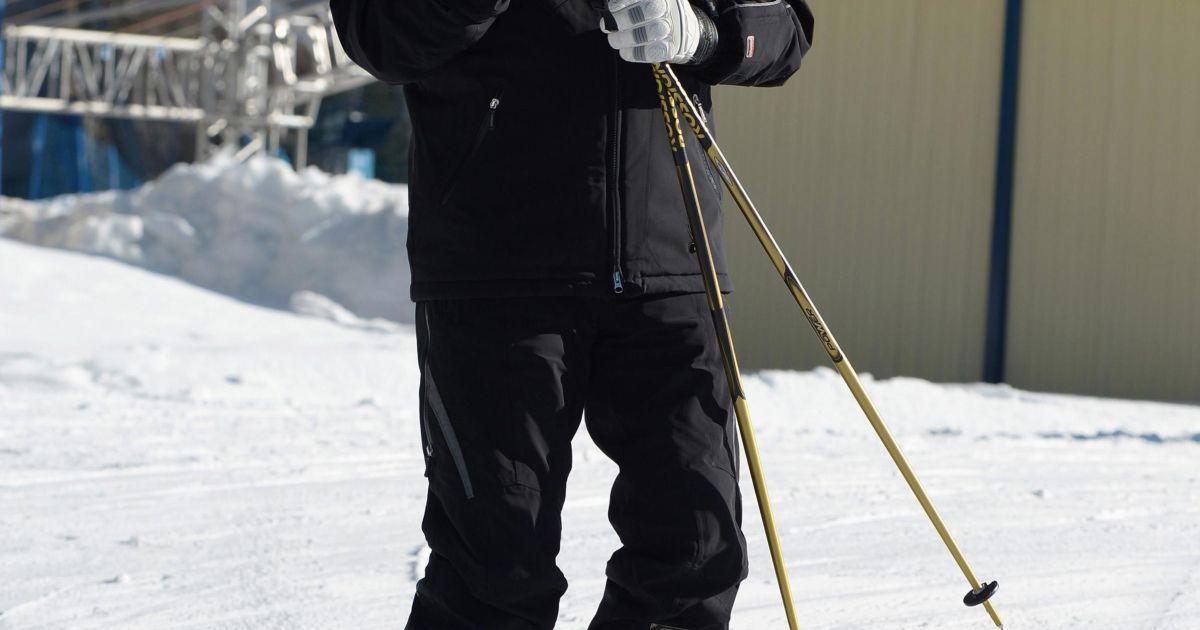 Путин с Медведевым покатались в Сочи на лыжах (Фото Reuters) @ Reuters