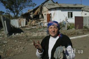 В окупованому бойовиками Торезі повстали матері з дітьми і вимагають гроші
