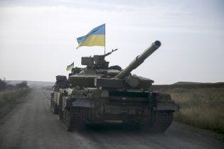 В Счастье прибыло немало современной украинской военной техники - журналист