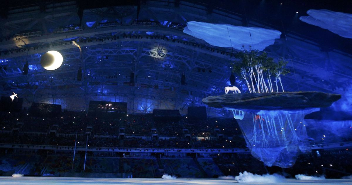 В Сочі стартувала церемонія відкриття Олімпійських ігор. @ Reuters