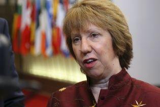 """Кэтрин Эштон осудила """"Правый сектор"""" за давление на Верховную Раду"""