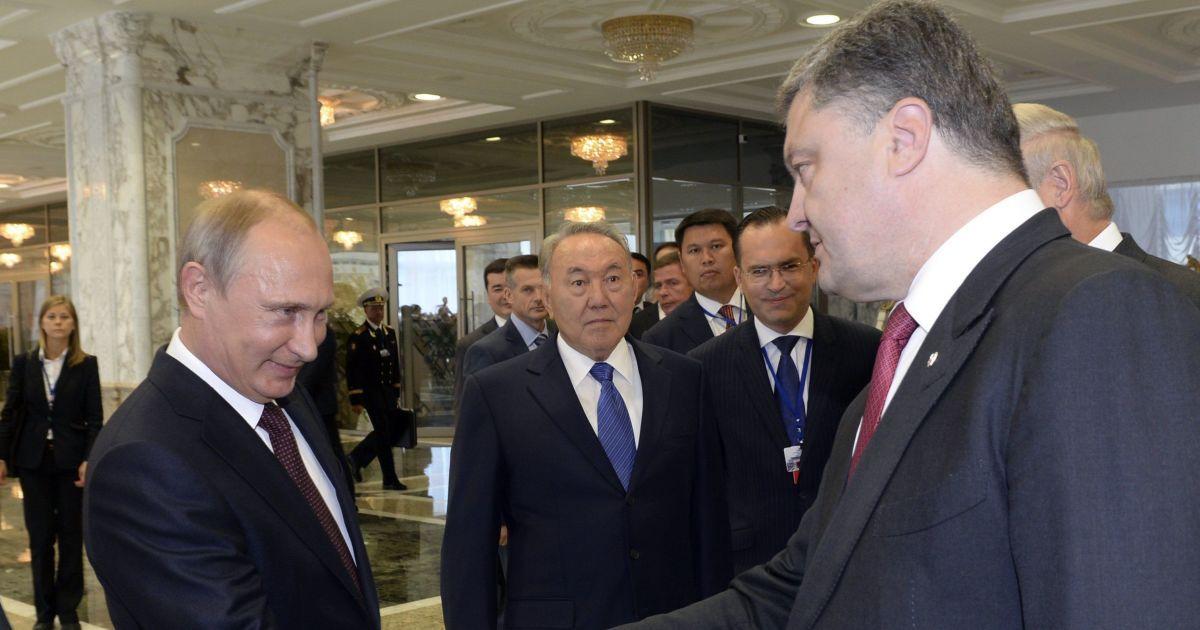 В Кремле заявили, что Путин не будет встречаться с Порошенко
